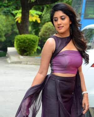 Dhanya Balakrishna Photos at Hulchul Movie Teaser Launch