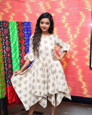Photos: Actress Nitya Shetty Launches IKAT Art Mela | Picture 1594231