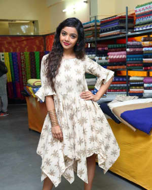 Photos: Actress Nitya Shetty Launches IKAT Art Mela | Picture 1594234