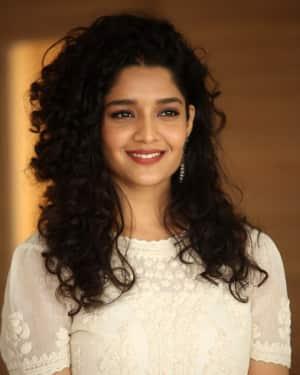 Ritika Singh Photos during Neevevaro Movie Interview