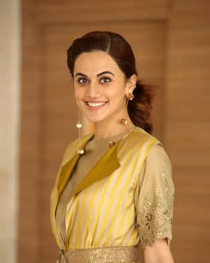 Taapsee Pannu Photos during Neevevaro Movie Interview  | Picture 1594373