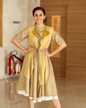 Taapsee Pannu Photos during Neevevaro Movie Interview  | Picture 1594387