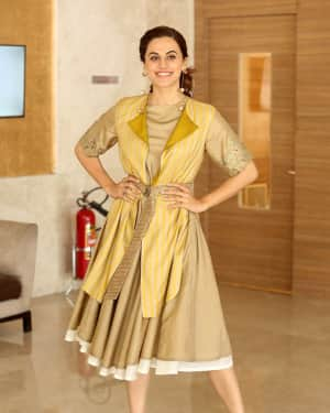 Taapsee Pannu Photos during Neevevaro Movie Interview  | Picture 1594356