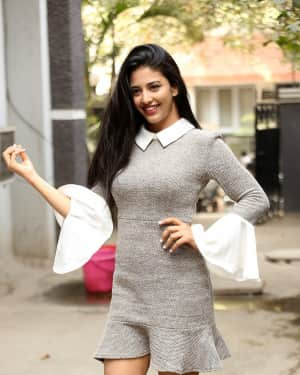 Daksha Nagarkar Photos at Husharu Interview