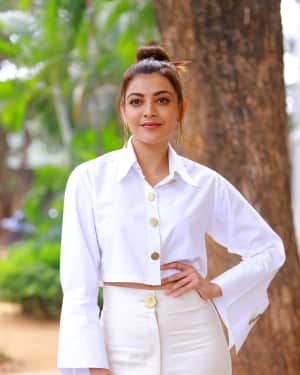 Kajal Aggarwal Photos at Kavacham Film Interview | Picture 1614398