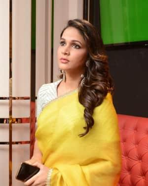 Lavanya Tripathi - Antariksham 9000 KMPH Movie Trailer Launch Photos