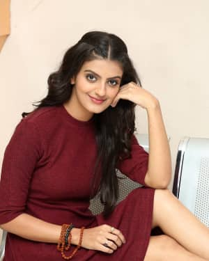 Tanishka Raj - Istamga Movie Press Meet Photos