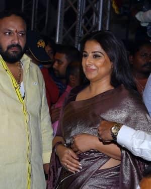 Vidya Balan - NTR Biopic Movie Audio Launch Photos | Picture 1617159