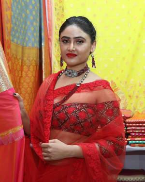 Actress Sony Charishta inaugurated The Royal Fashion Expo Photos