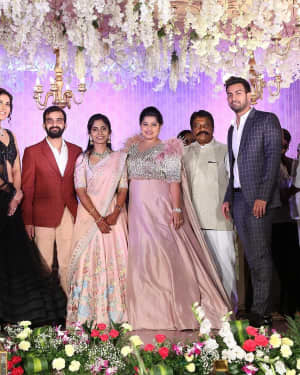 Harshit Reddy - Gouthami Wedding Reception Photos