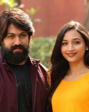 KGF Telugu Version Success Meet Photos