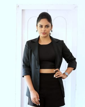 Nandita Swetha Photos at Bluff Master Movie Promotions | Picture 1617885