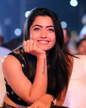 Rashmika Mandanna - Chalo Telugu Movie Success Meet Photos