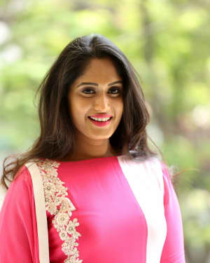 Actress Sowmya Venugopal Stills at Inthalo Ennenni Vinthalo Audio Release