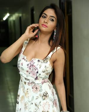 Actress Pooja Singh Hot Stills at Nandi Konda Vagullona Press Meet