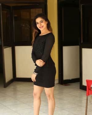 Actress Anitha Raghav Hot Photos at Saradhi Movie Press Meet