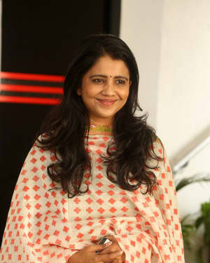 Sree Ranjani - Rangula Ratnam Movie Director and Herione Interview Photos