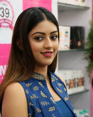 Photos: Actress Anu Emmanuel Launches B New Mobile Store at Bapatla