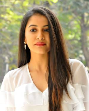 Actress Simran Sharma Stills at EGO Telugu Movie Interview | Picture 1559645