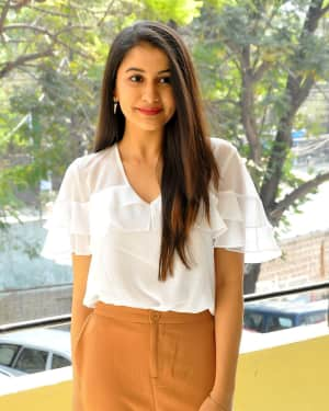 Actress Simran Sharma Stills at EGO Telugu Movie Interview | Picture 1559644