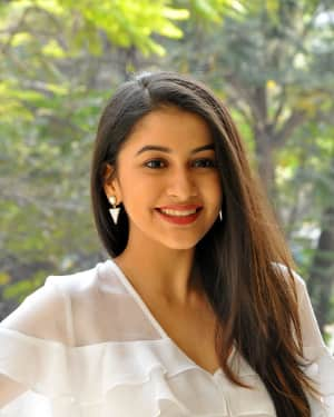 Actress Simran Sharma Stills at EGO Telugu Movie Interview | Picture 1559659
