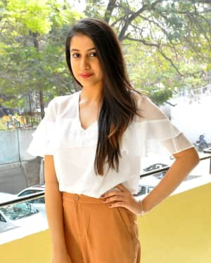 Actress Simran Sharma Stills at EGO Telugu Movie Interview | Picture 1559654