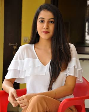 Actress Simran Sharma Stills at EGO Telugu Movie Interview | Picture 1559641