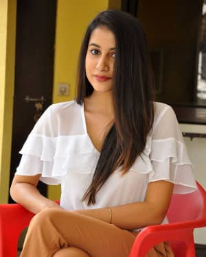 Actress Simran Sharma Stills at EGO Telugu Movie Interview | Picture 1559642