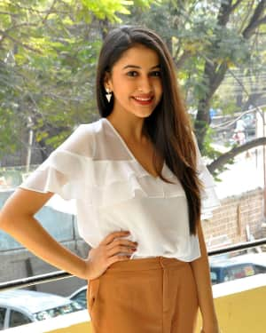 Actress Simran Sharma Stills at EGO Telugu Movie Interview | Picture 1559657