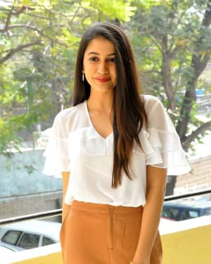 Actress Simran Sharma Stills at EGO Telugu Movie Interview
