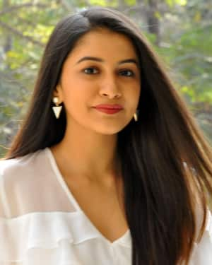 Actress Simran Sharma Stills at EGO Telugu Movie Interview | Picture 1559665