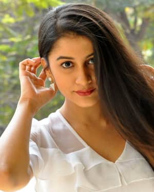 Actress Simran Sharma Stills at EGO Telugu Movie Interview | Picture 1559663