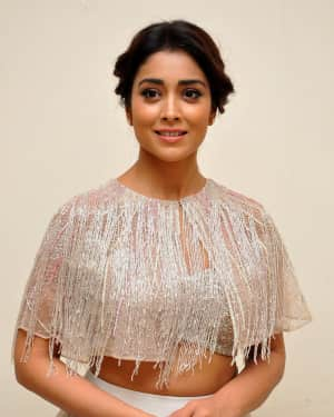 Actress Shriya Saran at TSR Kakatiya Cultural Festival Photos