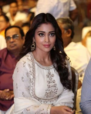 Shriya Saran - Gayatri Telugu Movie Audio Launch Photos