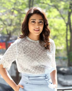 Photos: Shriya Saran Interview About Gayathri Movie