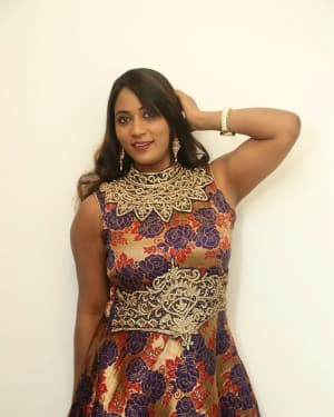 Actress Meghana at HBD Pre Release Event Photos | Picture 1562970