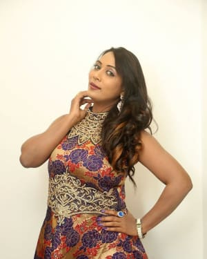 Actress Meghana at HBD Pre Release Event Photos | Picture 1562974