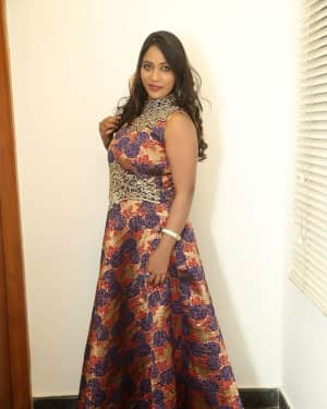 Actress Meghana at HBD Pre Release Event Photos | Picture 1562988