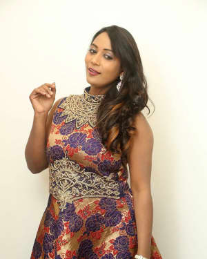 Actress Meghana at HBD Pre Release Event Photos | Picture 1562975