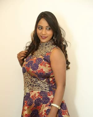 Actress Meghana at HBD Pre Release Event Photos | Picture 1562989