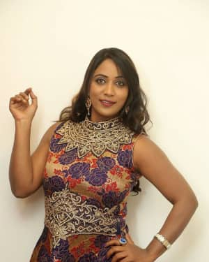 Actress Meghana at HBD Pre Release Event Photos | Picture 1562968