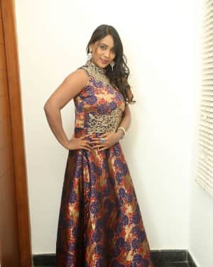 Actress Meghana at HBD Pre Release Event Photos | Picture 1562977