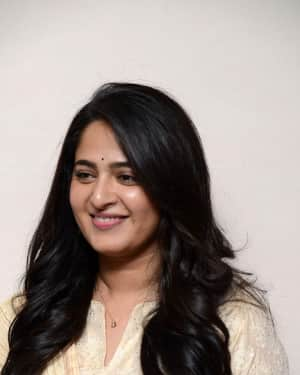 Photos: Actress Anushka Shetty at Bhaagamathie Thanks Meet