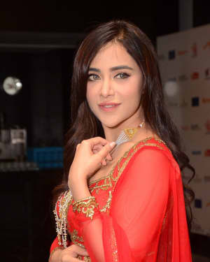 Angela Krislinzki - Celebs at Wedding Jewellery Exhibition Curtain Raiser