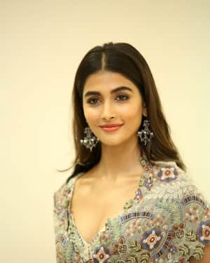 Actress Pooja Hegde Stills at Sakshyam Movie Audio Launch