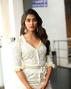Pooja Hedge Stills at Saakshyam MovIe Success Meet