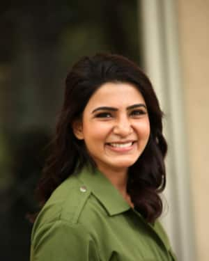 Samantha Stills at Chi La Sow Movie Pre Release Event