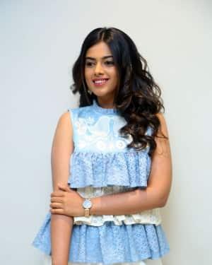 Actress Siddhi Idnani Stills at Jambalikada Pamba Pramotional Song Launch