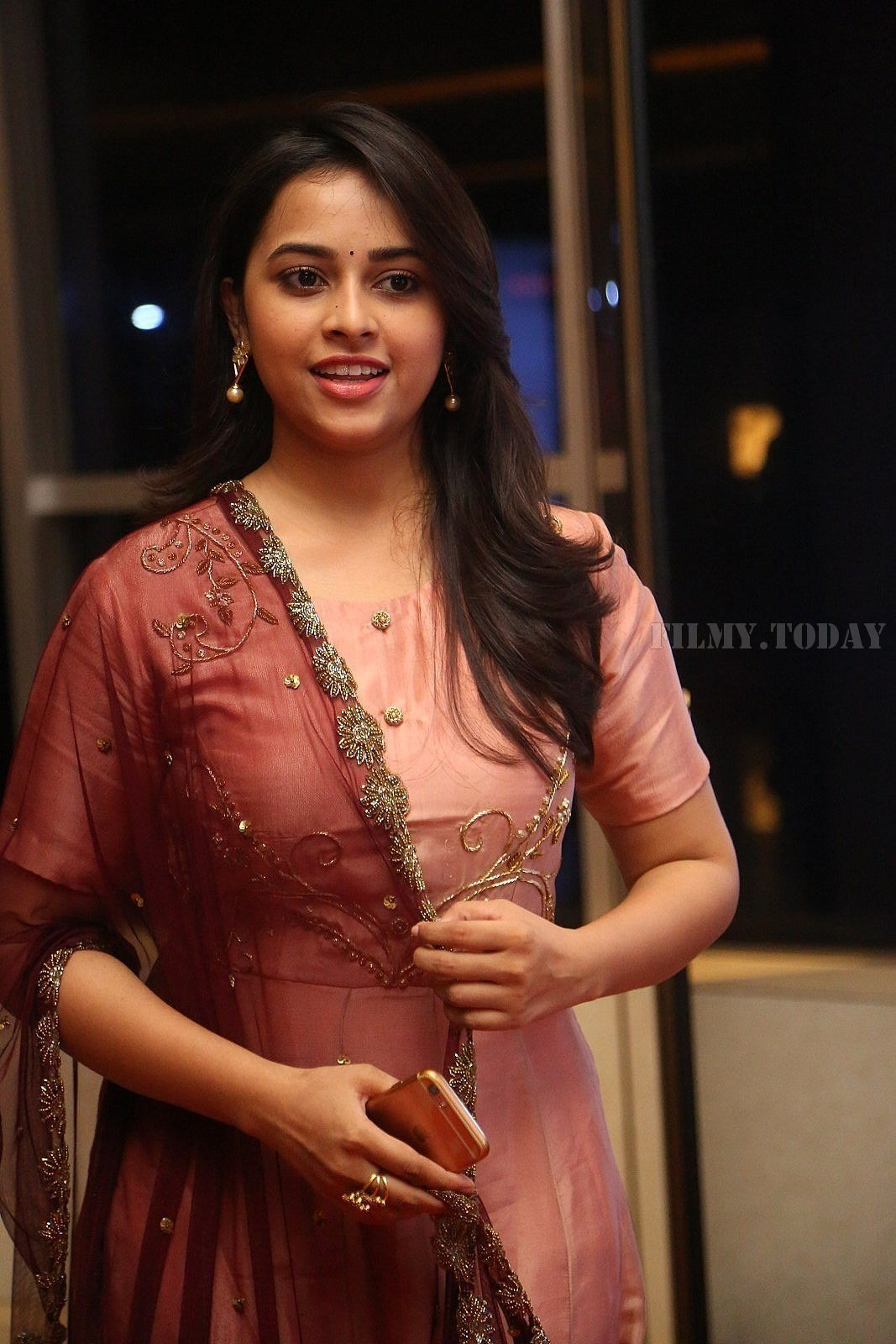 Actress Sri Divya Stills at Abhimanyudu Special Screening | Picture 1584117