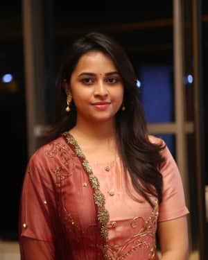 Actress Sri Divya Stills at Abhimanyudu Special Screening | Picture 1584104
